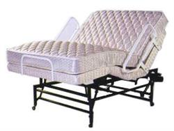 Semi Electric Hospital Bed - Dual Queen 60 X 80 (No Massage) Adjustable Bed