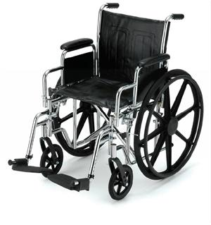 Steel Wheelchair - 16