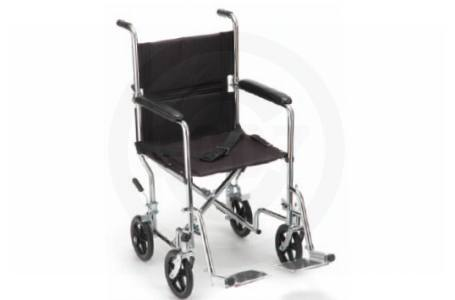 "17"" Seat - Transport Chair - Various Colors"