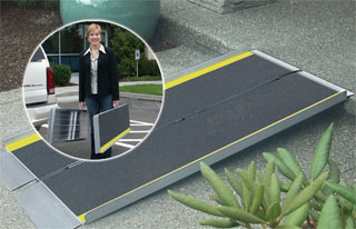 Suitcase Ramp - Advantage Series - 3'