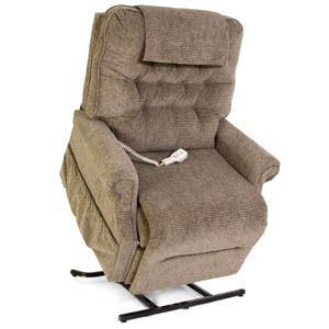 Pride Lift Cair - 3-Position Full Recline, Bariatric Chaise Lounger - Height Range: 5'3
