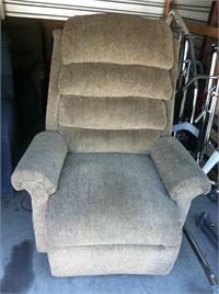 Pride Lift Chair - 3-Position Full Recline, Bariatric Chaise Lounger - Height Range: 5'3