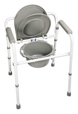 Platinum Collection Three-In-One Steel Commode