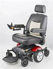 Monthly Rental - P326A Vision Sport - Mid Wheel Drive Power Wheelchair - Indoor Mobility Chair