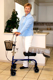 Walking Aids - Knee Walkers - Roller Aid